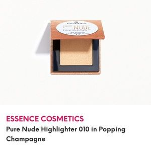 5/$25 ESSENCE Pure Nude Highlighter Champagne NWT